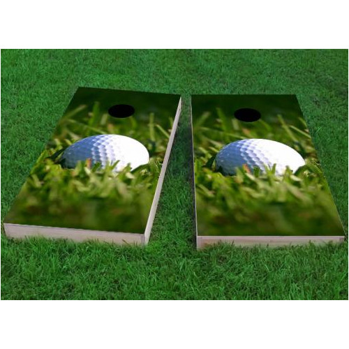 Custom Cornhole Boards Golf Ball Cornhole Game (Set of 2) by Custom Cornhole Boards