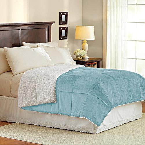 Better Homes&gardens Bhg Mink To Sherpa Comforter