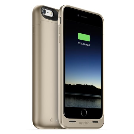 Mophie iPhone 6/6s Plus Juice Pack 60% Extra Battery Case, Gold