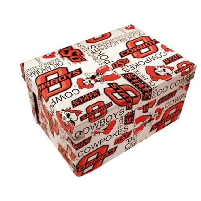 Sport Collectors Guild OklahomaStateBoxxer Oklahoma State University designs on a collapsible gift box