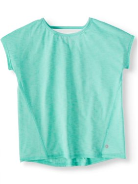 Avia Pleat Back Active Tee (Little Girls & Big Girls)
