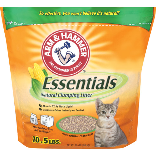 ARM & HAMMER ESSENTIALS NATURALS CLUMPING CAT LITTER