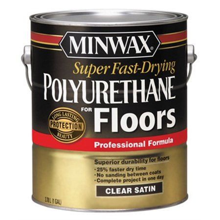 Super Fast-Drying Polyurethane For Floors, PartNo 13022, by Minwax Company, The,