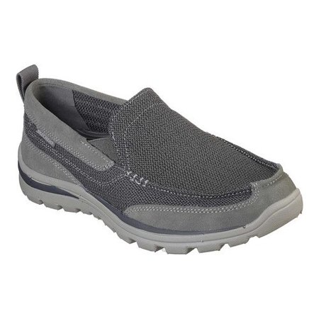 9cbc08f65cae Skechers - Skechers Men s Relaxed Fit Superior Milford - Walmart.com