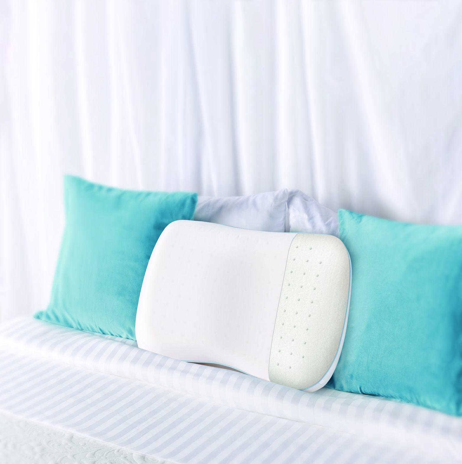Dream Serenity Ergo Shape Comfort Memory Foam Pillow Walmartcom