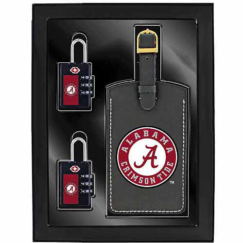 Aminco 3-Piece Luggage Security Gift Set, Alabama