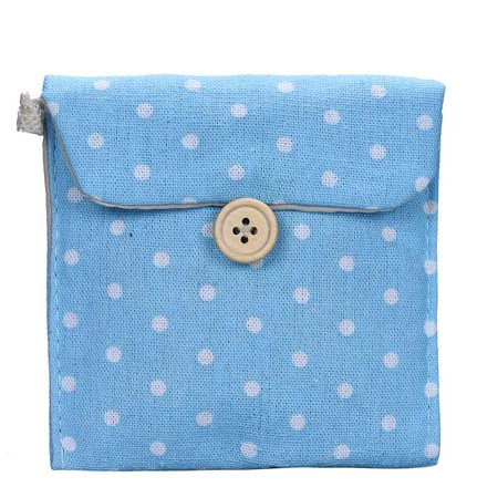 Girl Cotton Diaper Sanitary Napkin Package Bag Storage Organizer BU