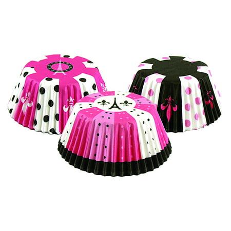 Fox Run Paris 75 Piece Bake Cup Cupcake Wrapper Set