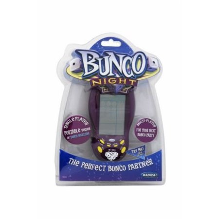 Radica Electronic Game - Bunco Night Hand-Held Electronic Game by Radica