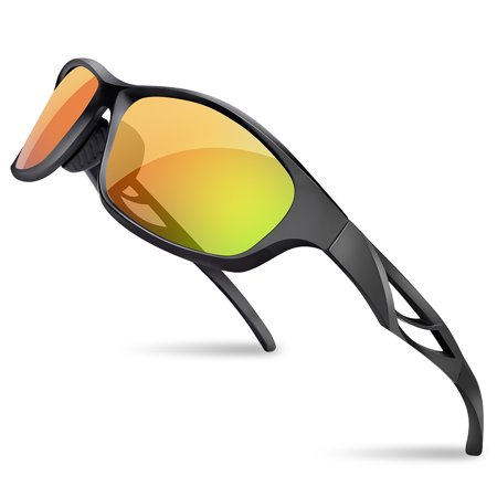Outdoor Cycling Goggles UV400 Protective Glasses Polarized Sport Sunglasses with Case for Men (Are Cheap Polarized Sunglasses Good)