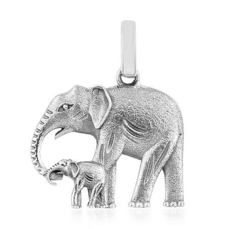 Elephant Pendants (925 Sterling Silver Elephant Pendant For)