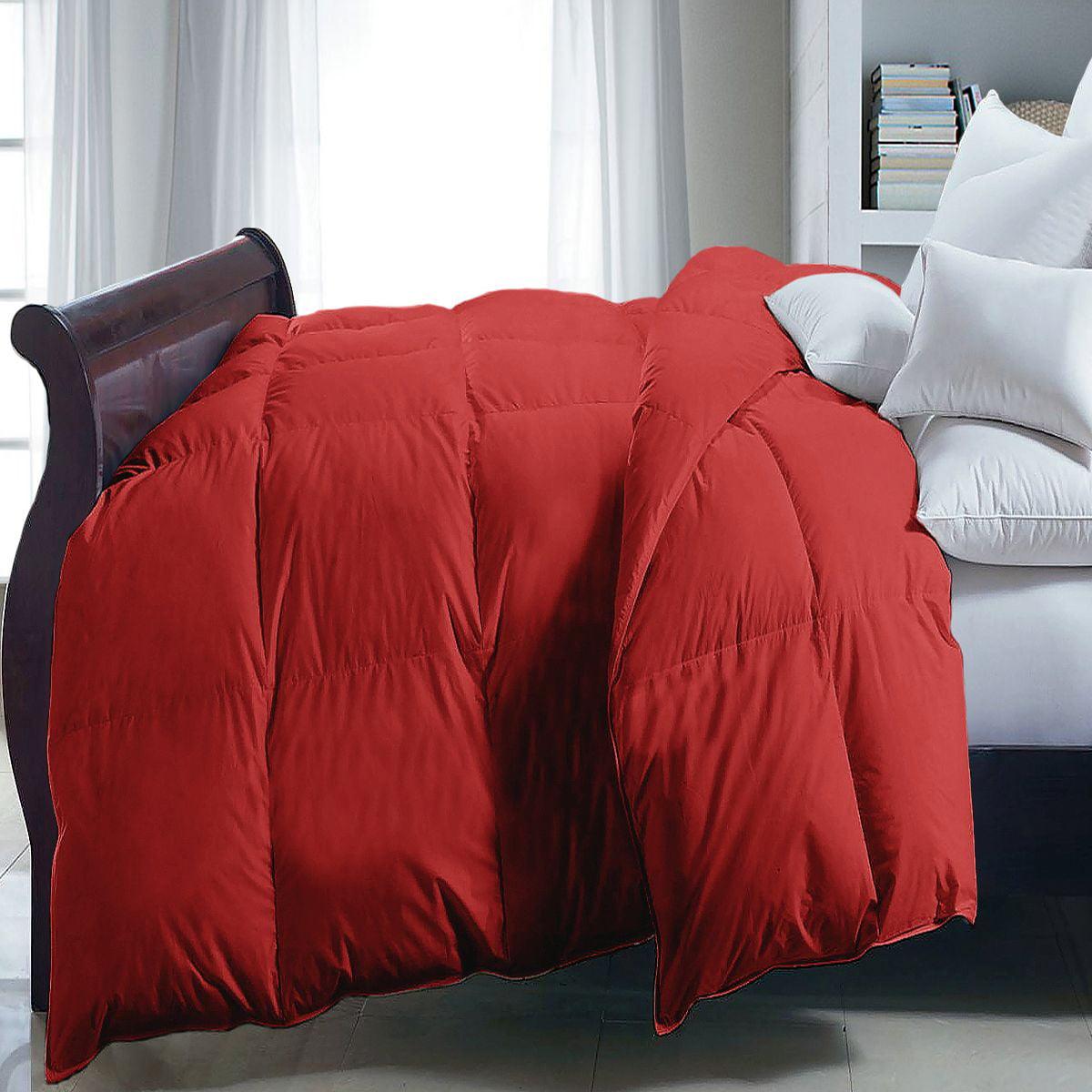 Blue Ridge Microfiber Down Alternative Comforter Brick Red