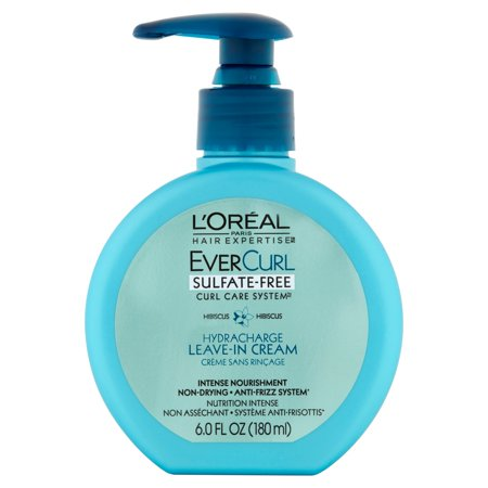 Loreal Textureline Curl Memory - L'Oreal Paris Ever Curl Care System Hydracharge Leave-In Cream 6 oz