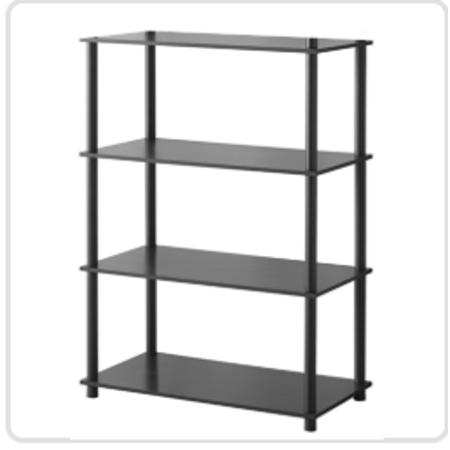 Mainstays No Tools 6 Cube Standard Storage Bookshelf, Multiple Colors ()