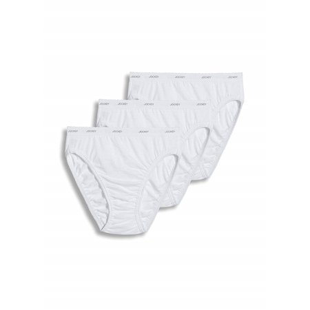 9bab48092 Jockey - Jockey Plus Size Classics French Cut 3 Pack (White