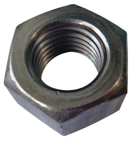 FABORY #10-32 Plain Finish 316 Stainless Steel Machine Screw Hex Nuts, 100 pk., 1WB17