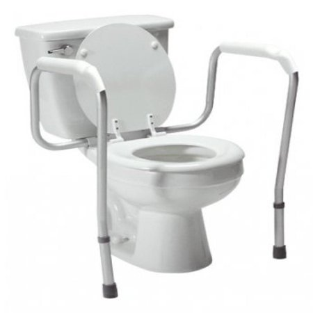 Graham Field Adjustable Height Versaframe Toilet Safety Rails, 1/cs, GHF6460A