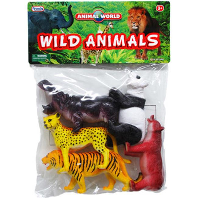 DDI 2267139 Plastic Wild Animals by DDI