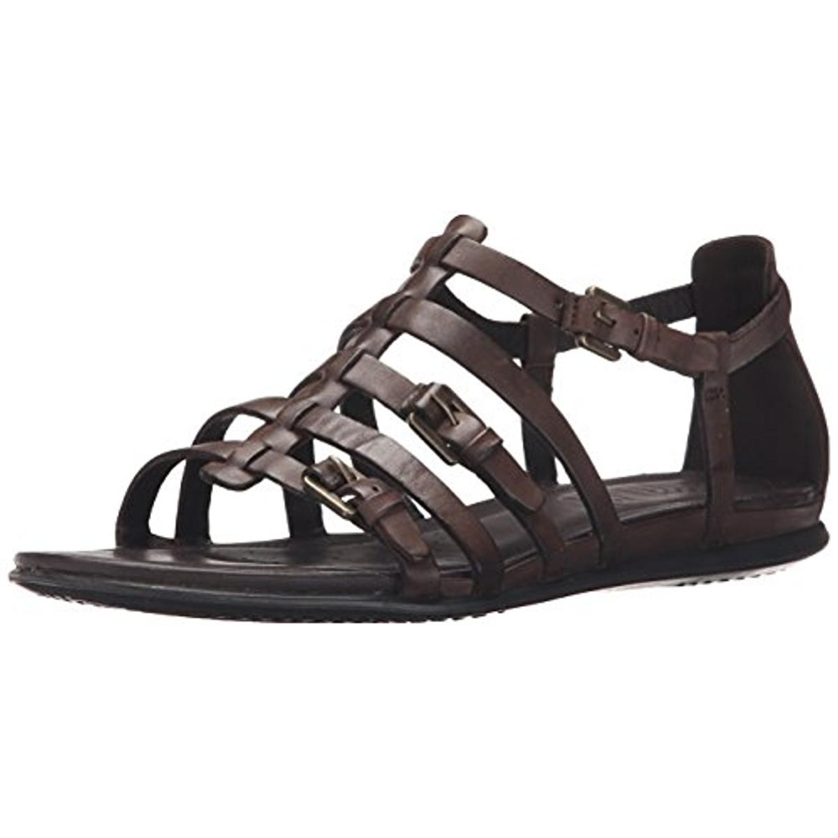 ECCO Womens Touch Leather T-Strap Gladiator Sandals by Ecco