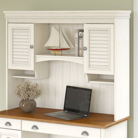 Bush Furniture Stanford Hutch for Computer Desk, Multiple Colors ()