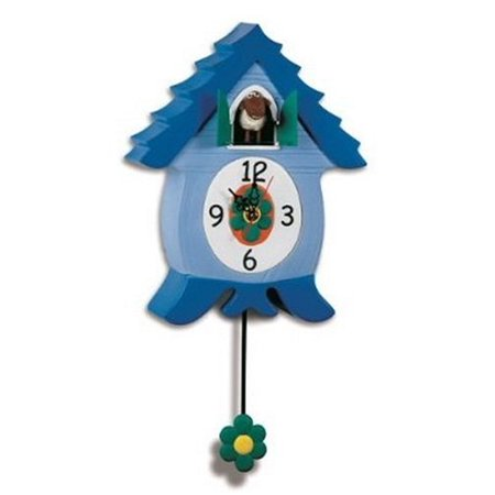 Ewecoo Cuckoo Clock With Ewenis Wooley Headsup Design Co 70408
