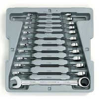 GearWrench 12-Piece Metric Ratcheting Wrench Set