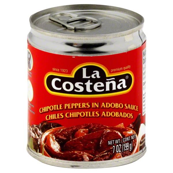 La Costena Chipotle Peppers In Adobo Sauce, 7 Oz