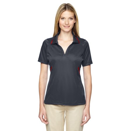 A Product of Ash City - Extreme Ladies' Eperformance™ Propel Interlock Polo with Contrast Tape - CARBON 456 - XL [Saving and Discount on bulk, Code Christo]