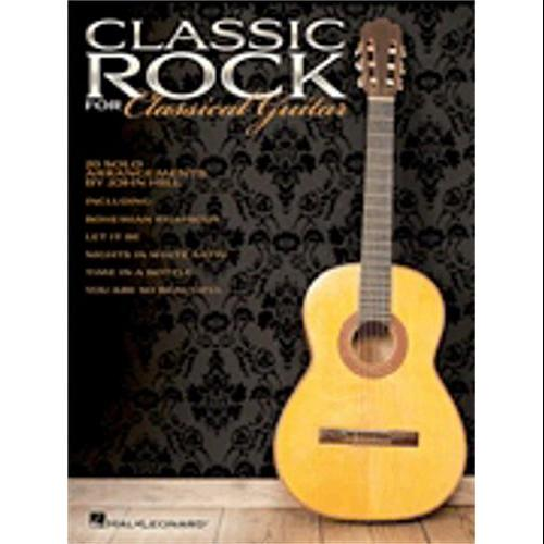 Hal Leonard Classic Rock for Classical Guitar