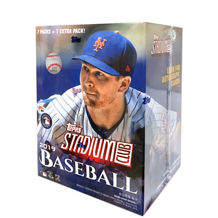 2019 Topps Stadium Club MLB Baseball Blaster Box