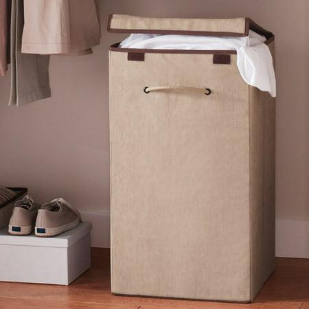 canopy collapsible laundry hamper. Black Bedroom Furniture Sets. Home Design Ideas