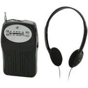 GPX Portable AM/FM Radio, R116B
