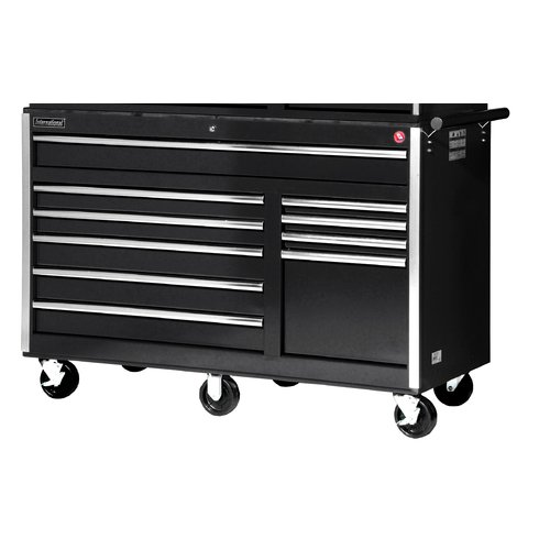 International Tech Series 58''W 10-Drawer Tool Chest