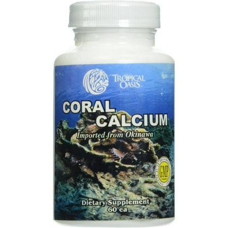 Tropical Oasis calcium de corail, 60 CT