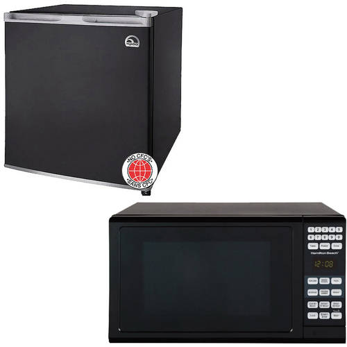 Igloo 1.6-cu ft Refrigerator with Hamilton Beach 0.7-cu ft Microwave Oven Value