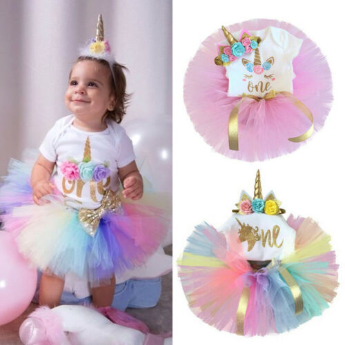 SUPEYA Toddler Baby Girls Mothers Day Letter Print Tops Rompers Tulle Skirt Outfits