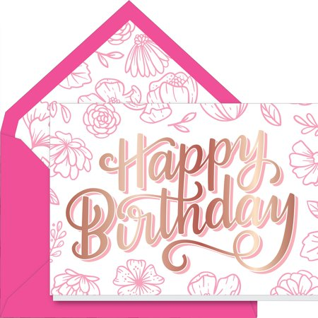 Ac Gift Greeting Card W Envelope Happy Birthday