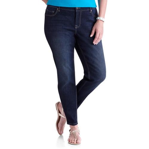 Faded Glory Women's Plus-Size Skinny Jeans