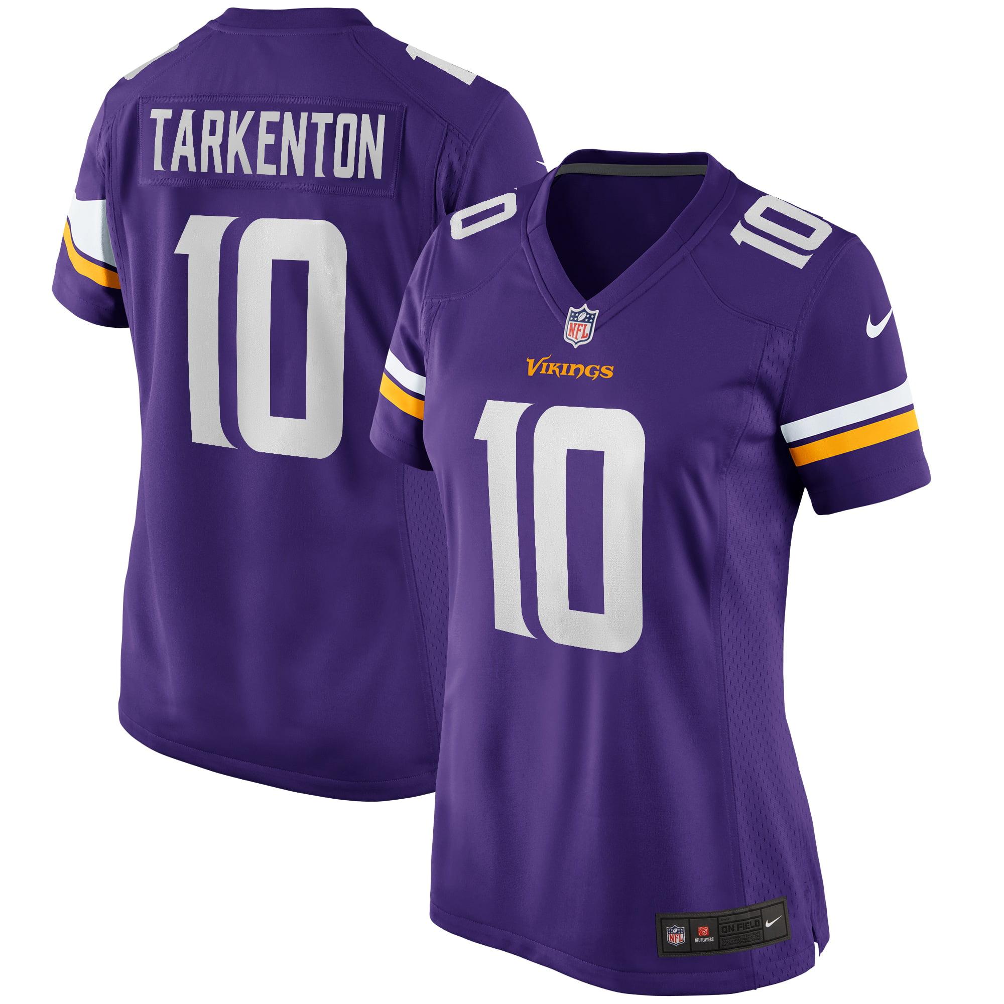 Fran Tarkenton Minnesota Vikings Nike Women's Game Retired Player Jersey - Purple - Walmart.com