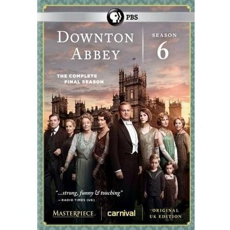 Downton Abbey: Season 6: The Complete Final Season (DVD) (The Office Halloween Episode Season 6)