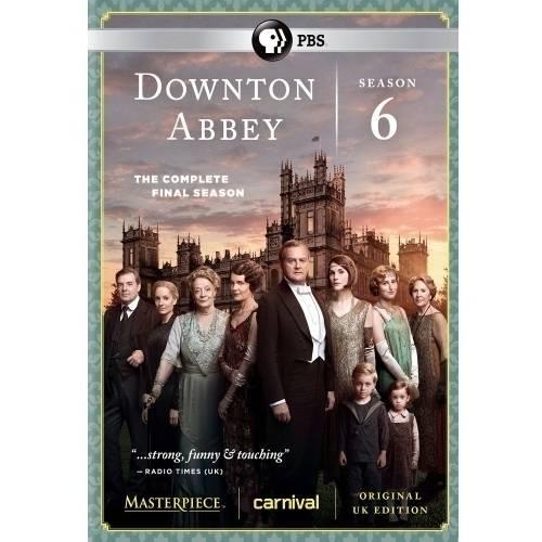Downton Abbey: Season 6: The Complete Final Season (DVD)