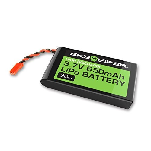 sky viper drone rechargeable lipo extra battery by skyrocket toys