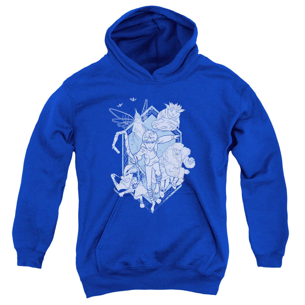 Rise Of The Guardians Coming For You Big Boys Pullover Hoodie