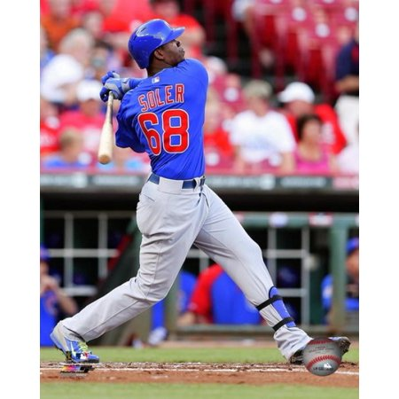 Jorge Soler Home Run In First Major Leage At Bat  August 27 2014 Photo Print