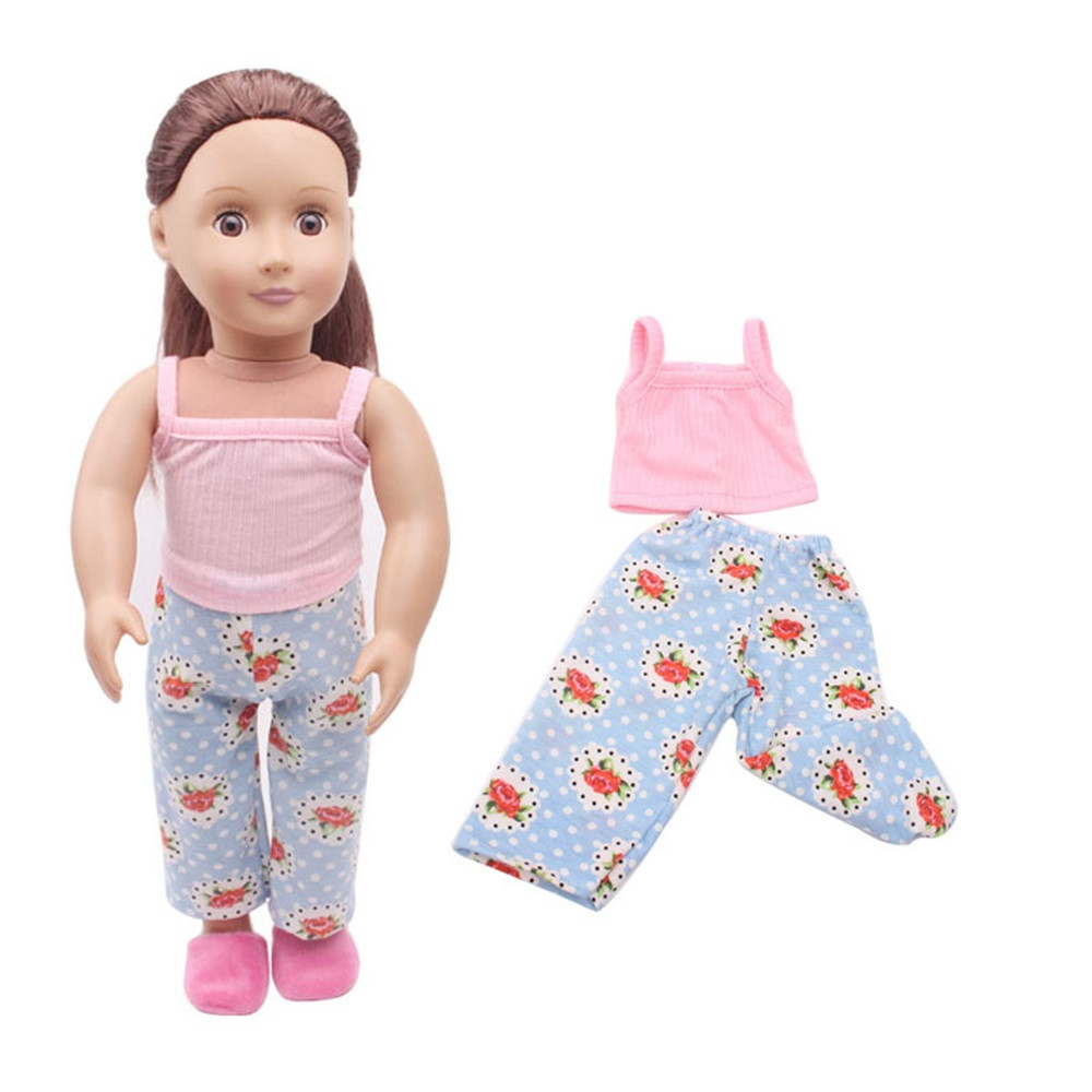 DZT1968Clothes&Pants For 18 inch Our Generation American Girl & Boy Dolls Logan Doll