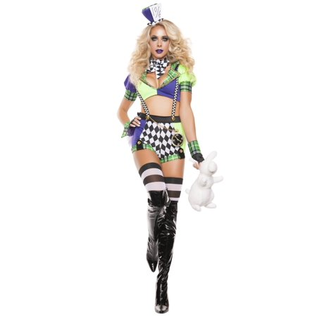 Womens Tipsy Mad Hatter Costume - Mad Hatter Woman Costume