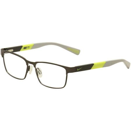 Nike Kids Youth Eyeglasses 5575 068 Brown/Black/Yellow/Grey Optical Frame (Optical Frames Costco)
