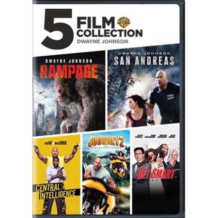 5 Film Collection: Dwayne Johnson (DVD) - Dwayne Johnson Halloween