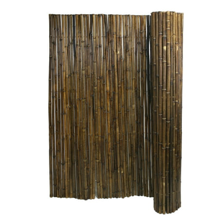 "Backyard X-Scapes Bamboo Fencing Caramel Brown 1""D x 6ft H x 8ft L"