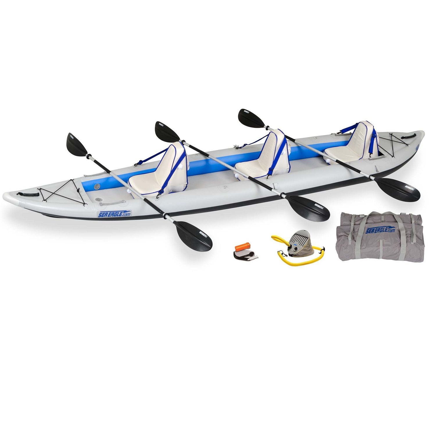 Sea Eagle FastTrack 465FTK Inflatable Kayak Deluxe by Sea Eagle